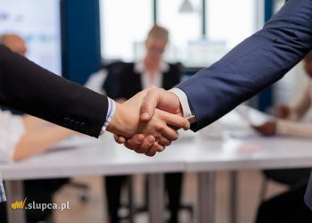 Satisfied businessman company employer wearing suit handshake new employee get hired at job interview, Man hr manager employ successful candidate shake hand at business meeting, placement concept